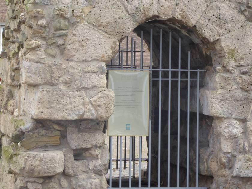 Drei Kronen Tafel Theo Burauen Platz